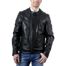 Vêtements Homme Vestes en cuir / synthétiques Mauritius Lenn Noir Noir