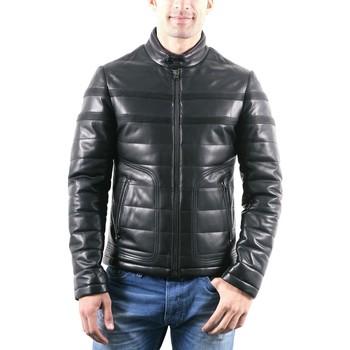 Vêtements Homme Vestes en cuir / synthétiques Giorgio Carter Noir Noir