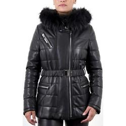 Vêtements Femme Doudounes Giorgio Gena Agora Noir Noir