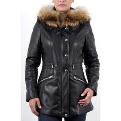 Vêtements Femme Vestes en cuir / synthétiques Giorgio Adenor Noir Noir