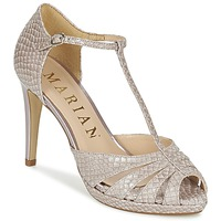 Chaussures Femme Sandales et Nu-pieds Marian CHANVRO Beige python