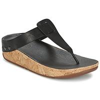 Chaussures Femme Tongs FitFlop IBIZA CORK Noir