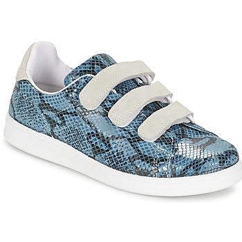 Baskets mode Yurban ETOUNATE Bleu Jeans 350x350