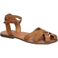 Chaussures Femme Sandales et Nu-pieds Gianluca - L'artigiano Del Cuoio 503 D CUOIO GOMMA Cuoio
