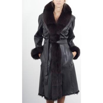 Vêtements Femme Vestes en cuir / synthétiques Giorgio Celestine Noir Noir