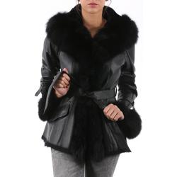 Vêtements Femme Manteaux Milpau AL 80-90 Noir Noir Noir