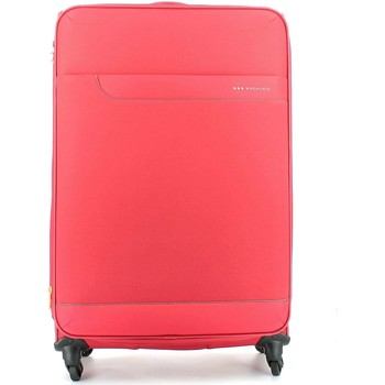 Sacs Valises Souples Roncato 414271 Grand trolley 4 roulettes Bagages Rouge Rouge