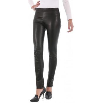Vêtements Femme Pantalons Giorgio Leggins Noir Noir