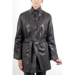 Vêtements Femme Vestes en cuir / synthétiques Giorgio Pipa Noir Noir