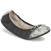 Chaussures Femme Ballerines / babies Les P'tites Bombes CAPRICE Noir