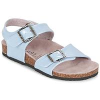 Chaussures Fille Sandales et Nu-pieds Les P'tites Bombes J ROSE Bleu