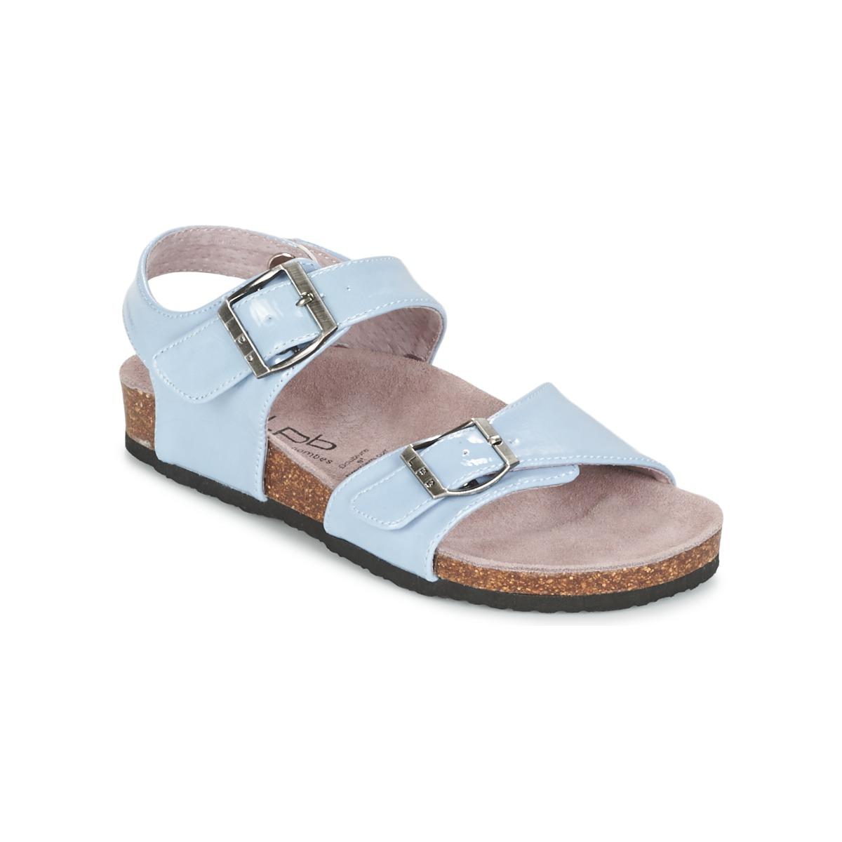 Sandale Les P'tites Bombes J ROSE Bleu