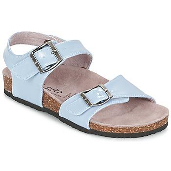 Sandale Les P'tites Bombes J ROSE Bleu 350x350