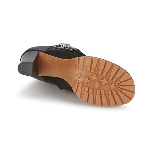 Femme By Noir Bottines Sb23116 Chaussures Chloé See SzMpVqU