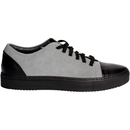 Chaussures Homme Baskets basses Fabiano Ricci 17784 Petite Sneakers Homme Gris Gris