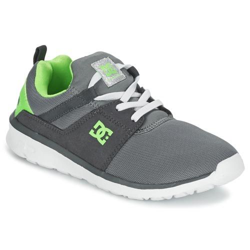 Chaussures DC Shoes Heathrow 36 grises Casual garçon pTvv5z