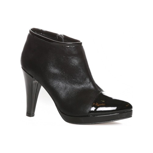 Chaussures Femme Low boots LPB Shoes bottines Beatrix Noir Noir