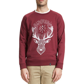 Sweats Wasted Sweat Shirt  Deer Bordeaux Homme