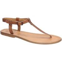 Chaussures Femme Sandales et Nu-pieds Gianluca - L'artigiano Del Cuoio 532 D CUOIO CUOIO Cuoio