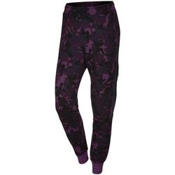 Vêtements Femme Pantalons de survêtement Nike Pantalon de survêtement  Tech Fleece Camo - Ref. 695344-563 Violet