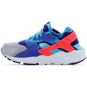 Chaussures Fille Baskets basses Nike Basket  Air Huarache Run Junior - Ref. 704943-003 Gris