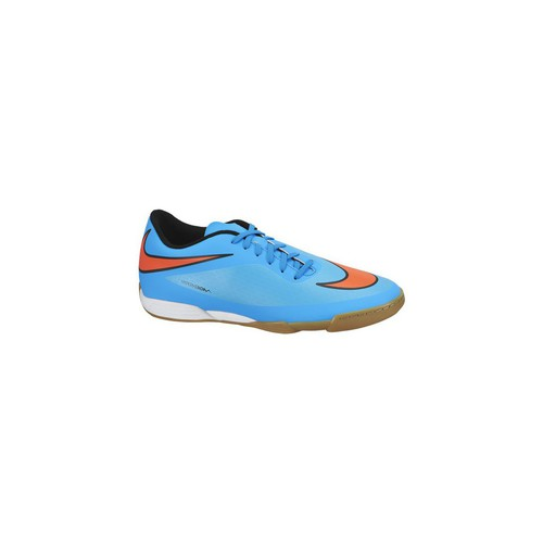 Chaussures Homme Football Nike Hypervenom Phade IC Bleu-Orange
