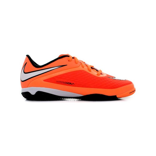 Chaussures Enfant Football Nike Hypervenom Phelon IC JR Orange
