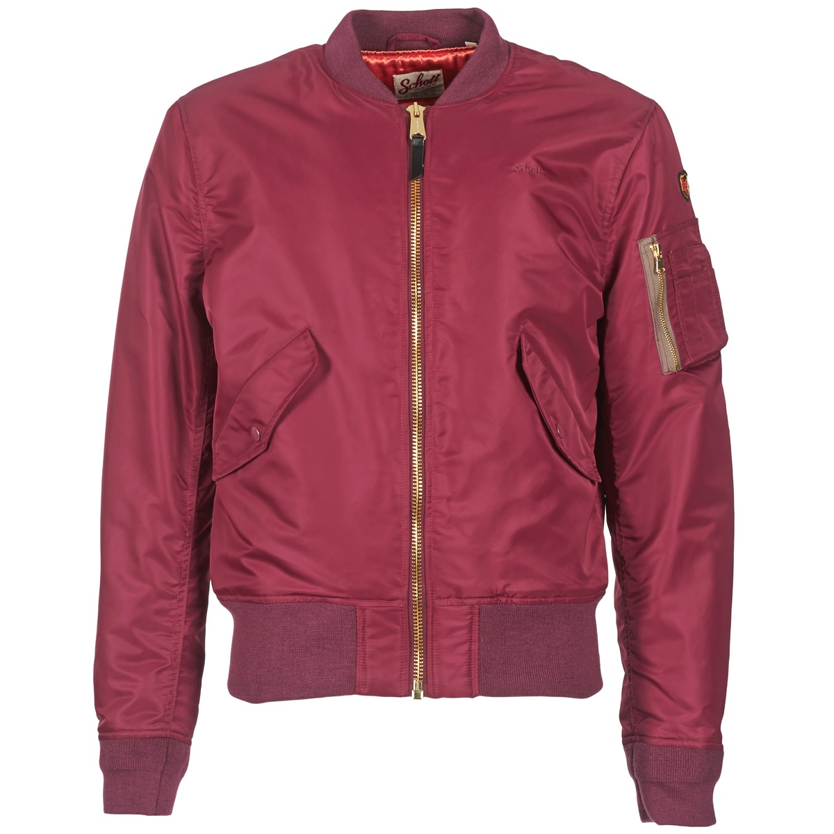 Schott BOMBER BY SCHOTT Bordeaux