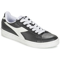 Chaussures Baskets basses Diadora GAME L LOW Noir / Blanc