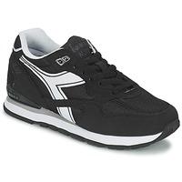 Chaussures Baskets basses Diadora N-92 Noir / Blanc