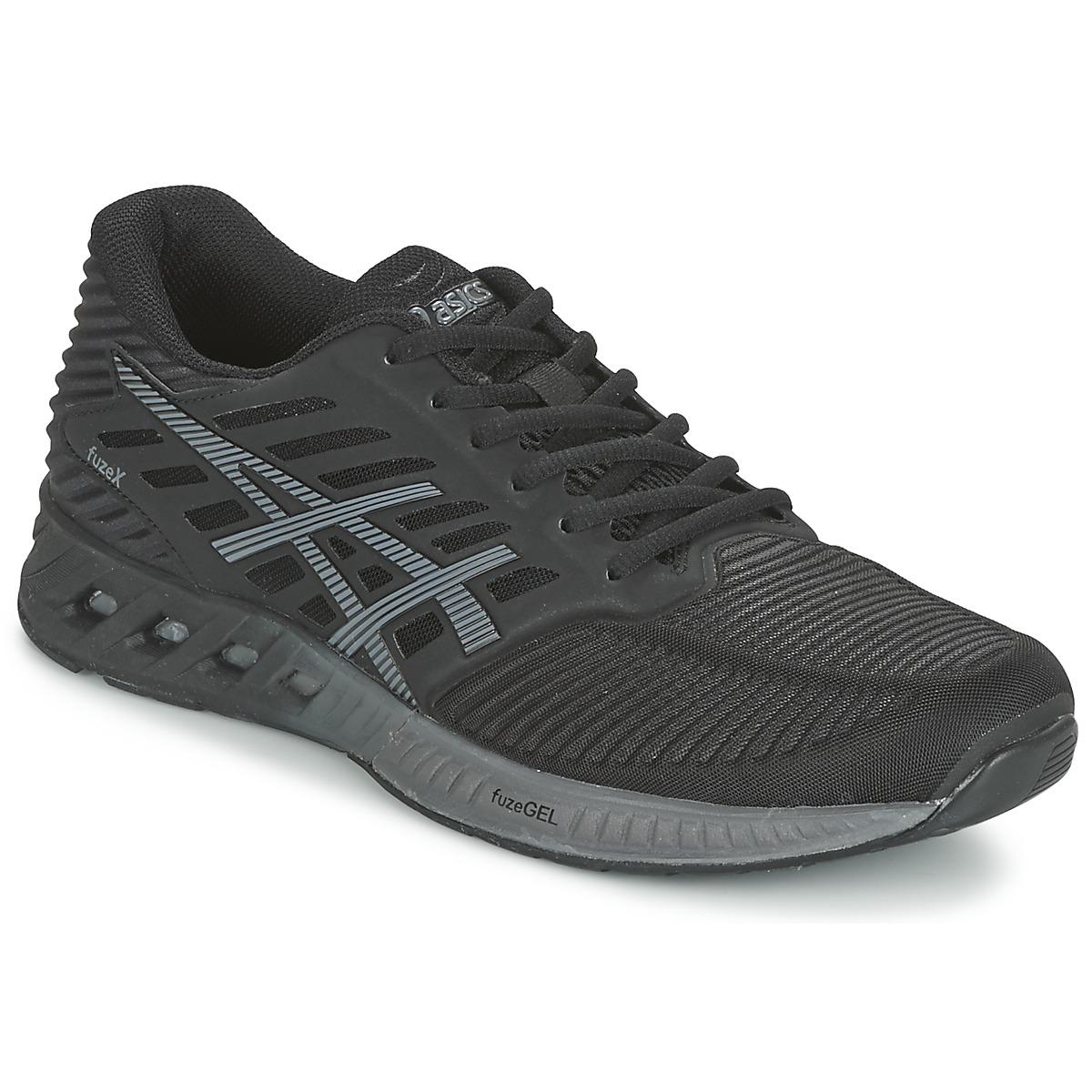 Chaussures-de-running Asics FUZEX Noir