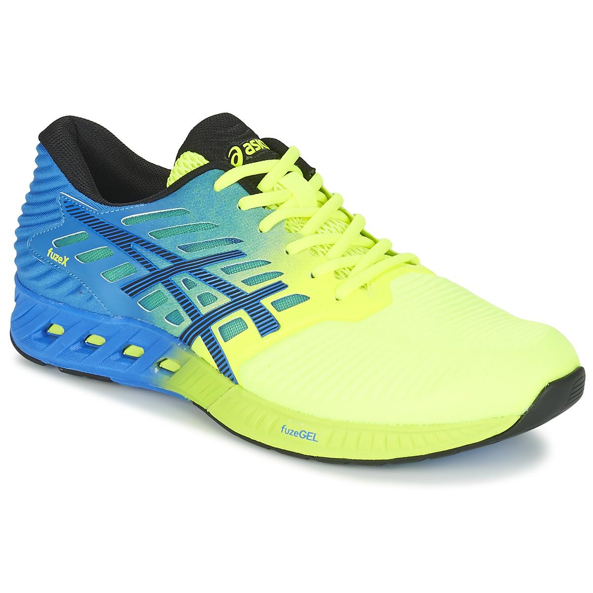 Chaussures-de-running Asics FUZEX Bleu / Jaune