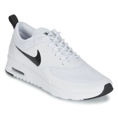 new style 2425f 9c094 Nike AIR MAX THEA W Blanc / Noir - Chaussures Baskets basses Femme ...