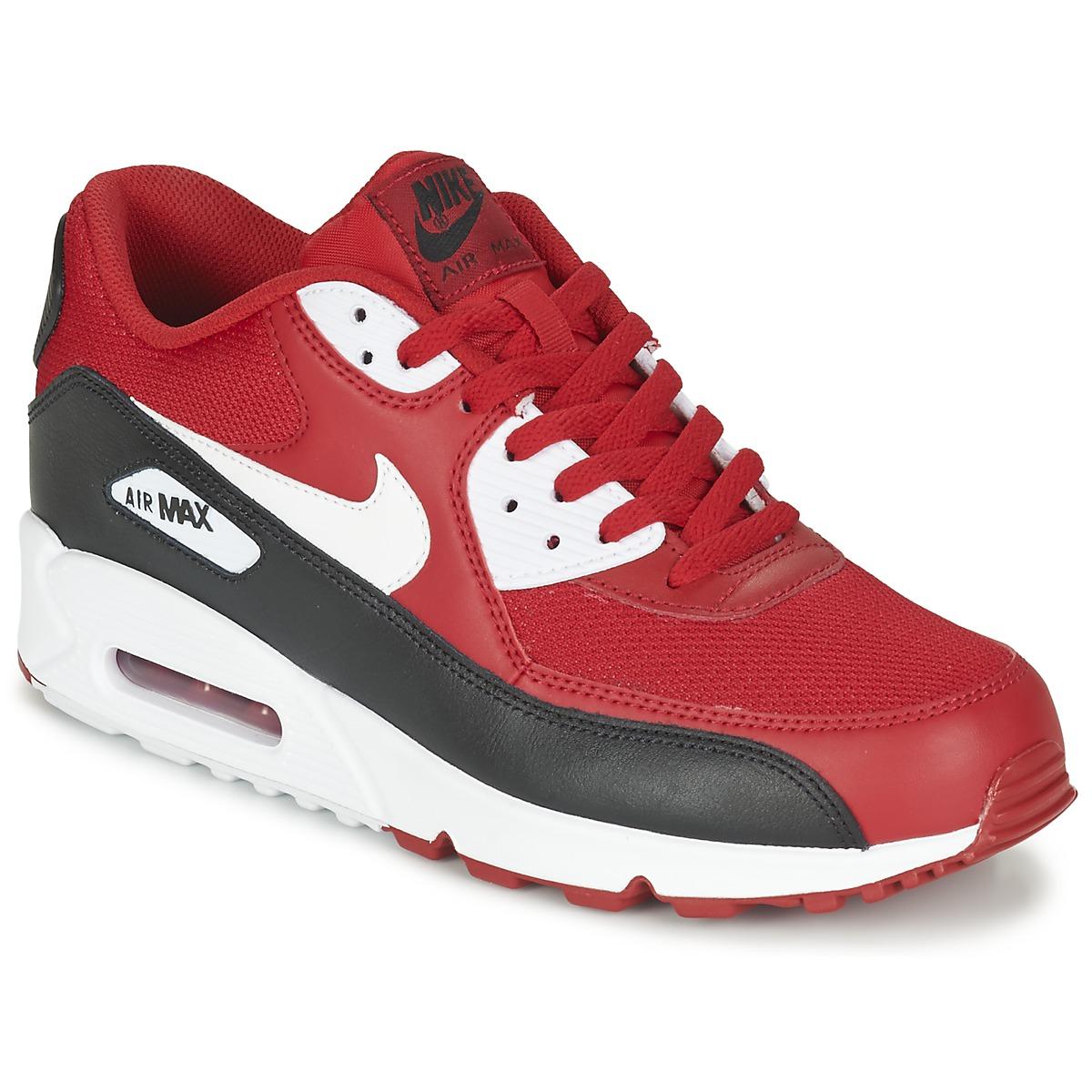 Nike AIR MAX 90 ESSENTIAL Rouge / Noir
