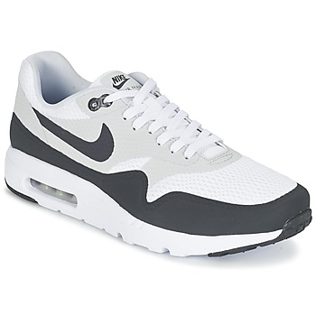 Baskets mode Nike AIR MAX 1 ULTRA ESSENTIAL Blanc / Gris 350x350