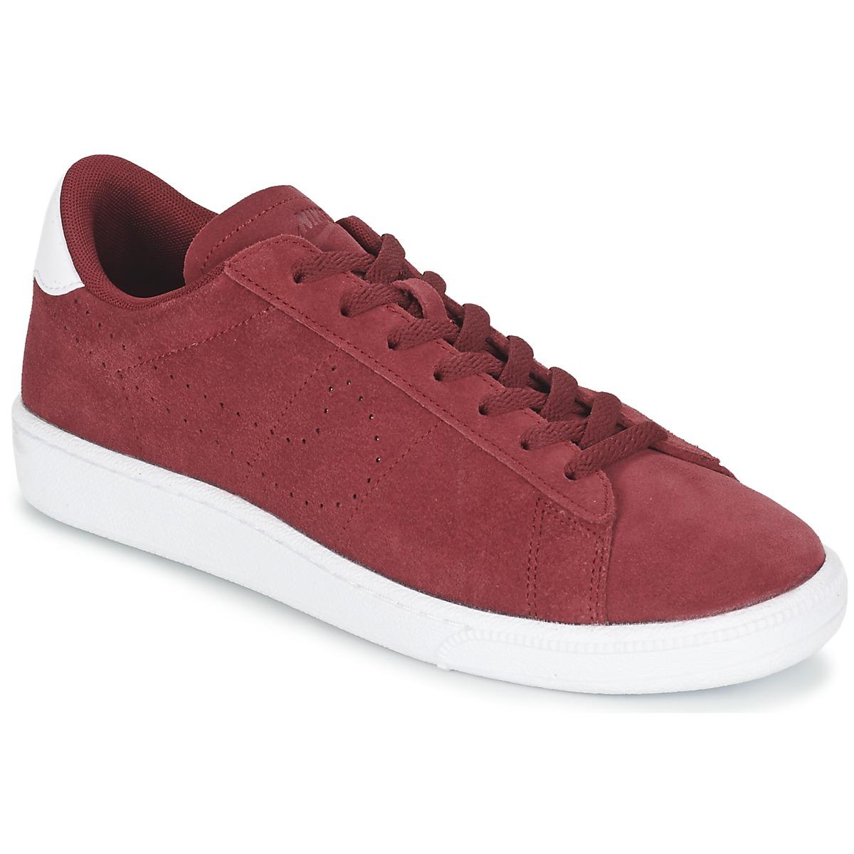 Nike TENNIS CLASSIC CS SUEDE Rouge