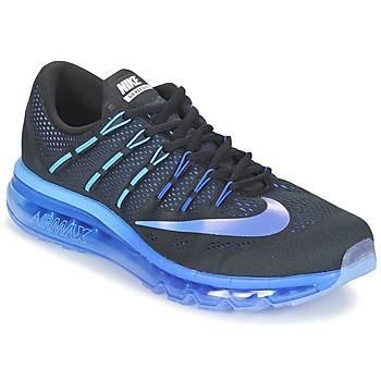 Chaussures-de-running Nike AIR MAX 2016 Noir / Bleu 350x350