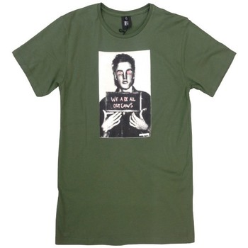 Vêtements Homme T-shirts manches courtes Insight T-Shirt  Elvis Smile - Army Vert