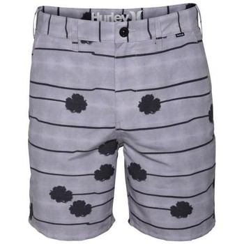 Vêtements Homme Shorts / Bermudas Hurley Short  Collective Palms - Light Iron Ore Gris