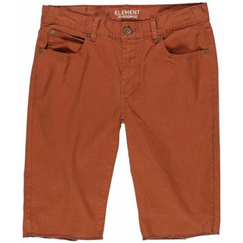 Vêtements Garçon Shorts / Bermudas Element Short  Boom Wk Boy - Cognac Rouge