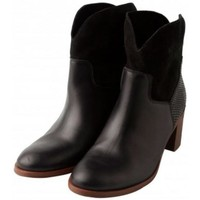 Bottines Loreak Mendian Chaussures  Ezmotz Nobuk - Black