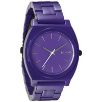 Montres & Bijoux Montre Nixon Montre  The Time Teller Acetate - Purple blanc