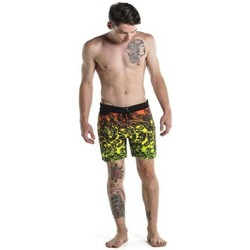 Vêtements Homme Maillots / Shorts de bain Insight Boardshort  Marble Boardy - Oil Slick Rasta Jaune
