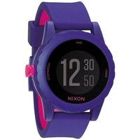 Montres & Bijoux Montres Digitales Nixon Montre  The Genie - Purple blanc