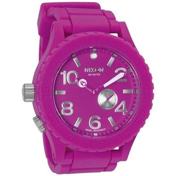 Montres Nixon Montre  Rubber 51-30 - Shocking Pink  350x350