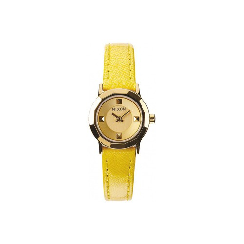 Montres Nixon Montre  Mini B - Gold / Yellow Jaune 350x350