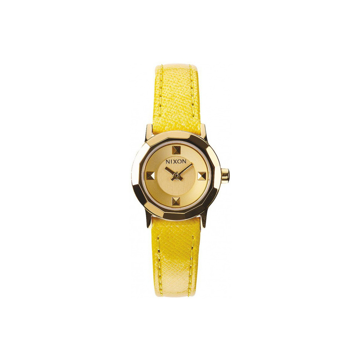 Nixon Montre  Mini B - Gold / Yellow Jaune