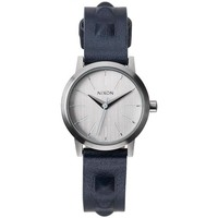Montres & Bijoux Femme Montre Nixon Montre  Kenzi Leather - All Silver / Studded Gris