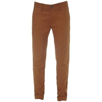 Vêtements Garçon Chinos / Carrots Volcom Pantalon  Frickin Tight Chino - Rust Rouge