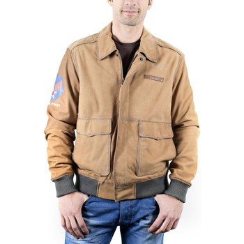 Veste Avirex Chicago Marron